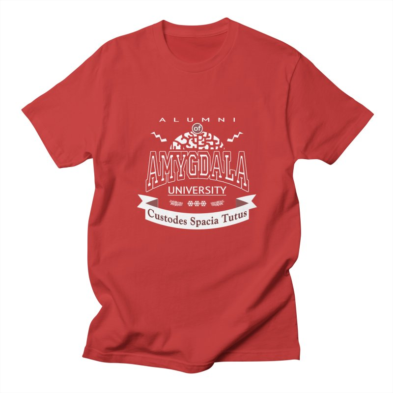 Amygdala University Men's T-Shirt by fireawaymarmotproductions's Artist Shop