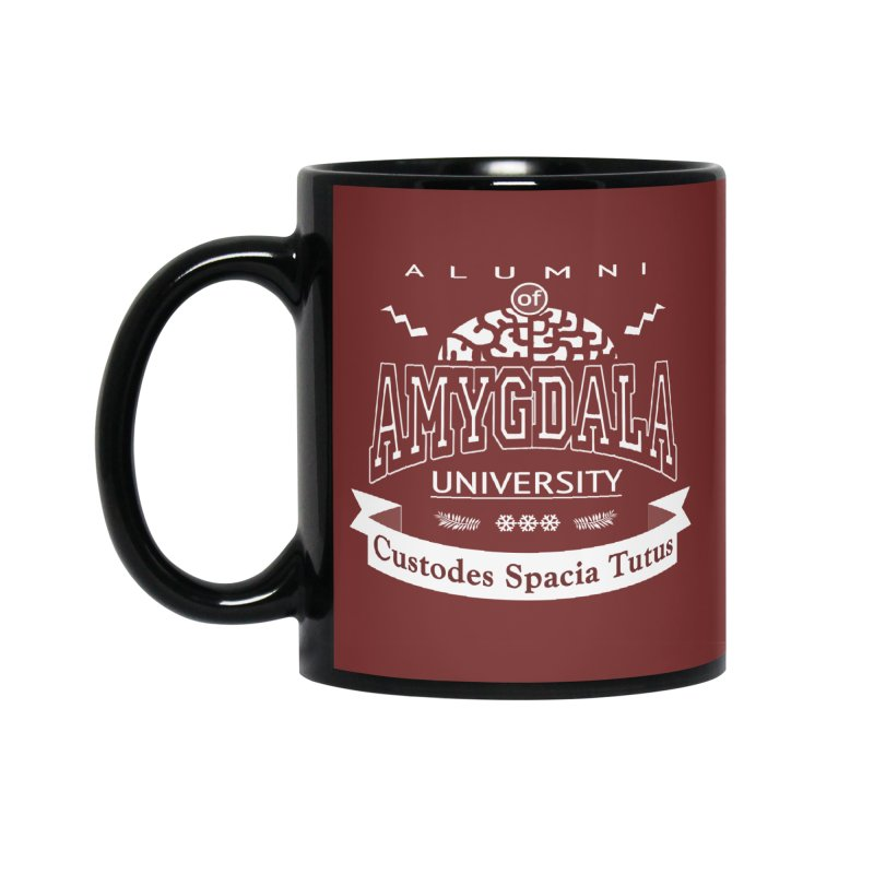 Amygdala University Accessories Standard Mug by fireawaymarmotproductions's Artist Shop