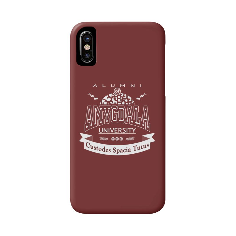 Amygdala University Accessories Phone Case by fireawaymarmotproductions's Artist Shop