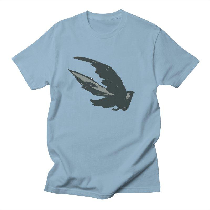 Bird in Flight Men's T-Shirt by fireawaymarmotproductions's Artist Shop