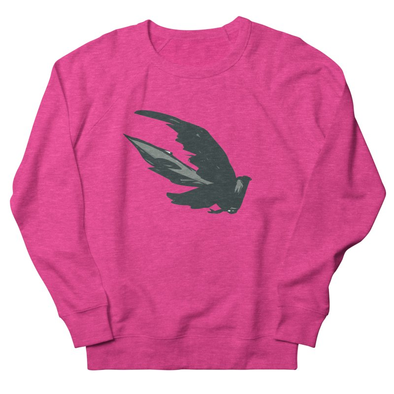 Bird in Flight Women's Sweatshirt by fireawaymarmotproductions's Artist Shop