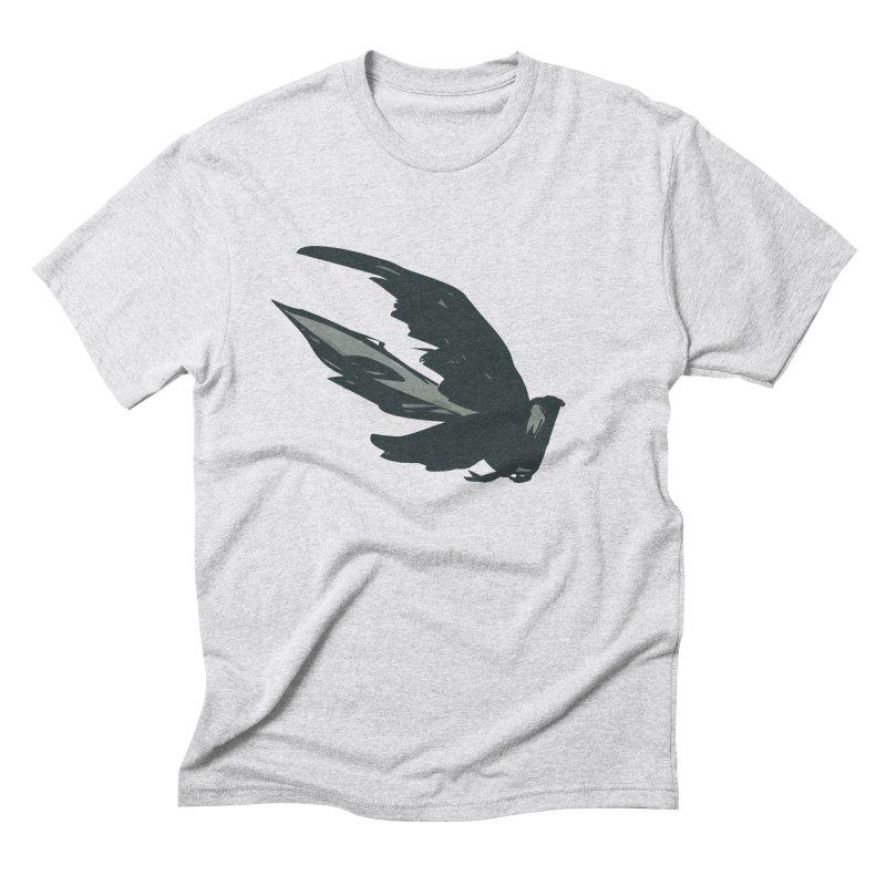 Bird in Flight Men's Triblend T-Shirt by fireawaymarmotproductions's Artist Shop
