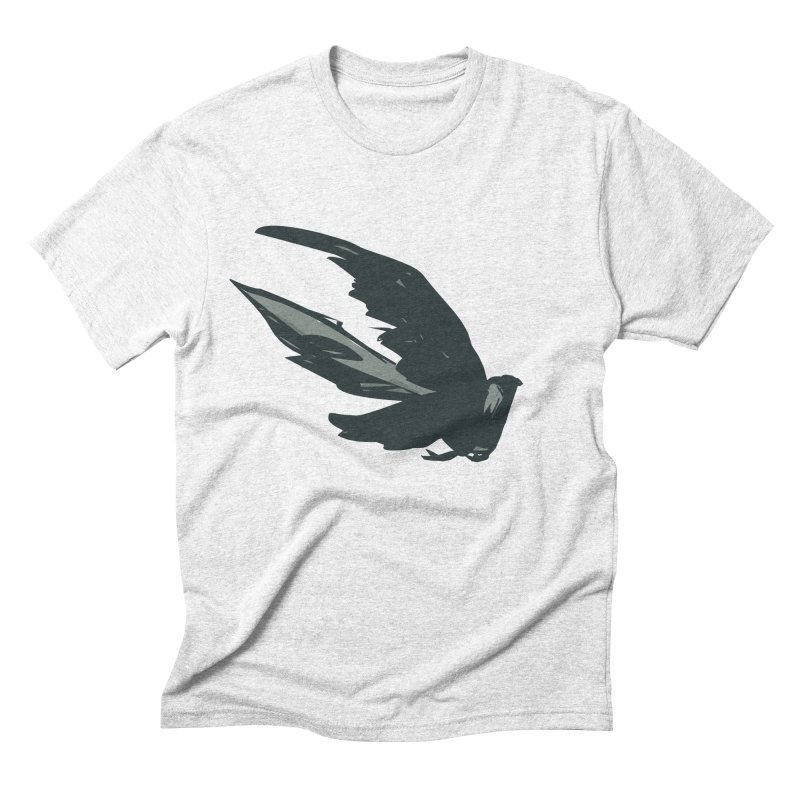Bird in Flight Men's Triblend T-shirt by fireawaymarmotproductions's Artist Shop