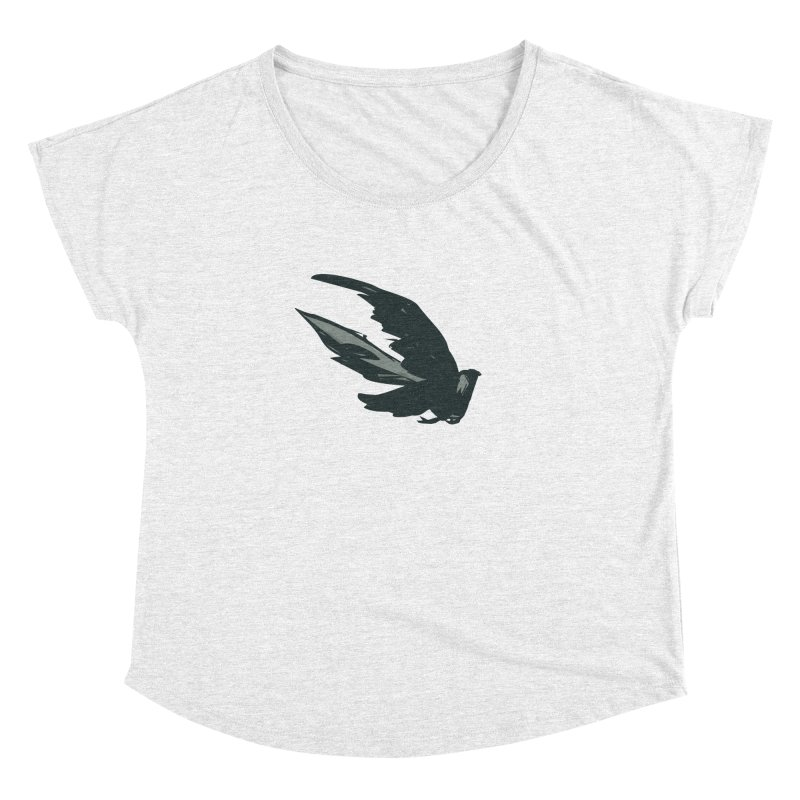Bird in Flight Women's Dolman by fireawaymarmotproductions's Artist Shop