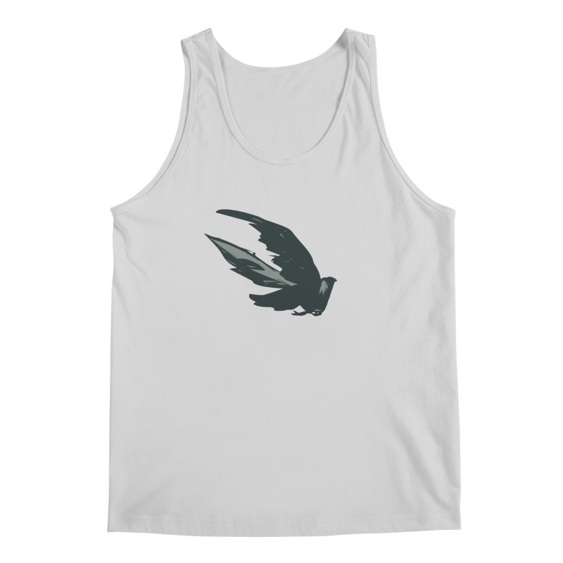 Bird in Flight Men's Tank by fireawaymarmotproductions's Artist Shop
