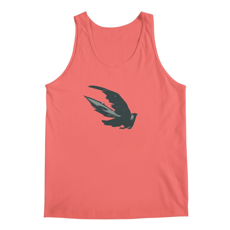 Bird in Flight Men's Tank by fireawaymarmotproductions's Artist Shop