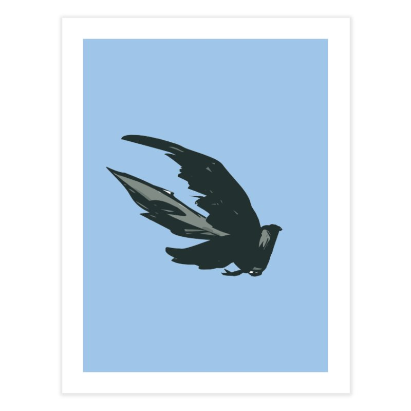 Bird in Flight Home Fine Art Print by fireawaymarmotproductions's Artist Shop