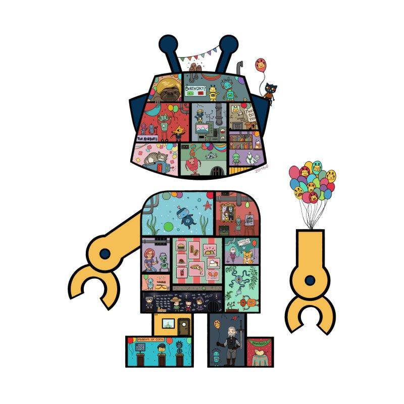Building A Bot by firebottle's Artist Shop