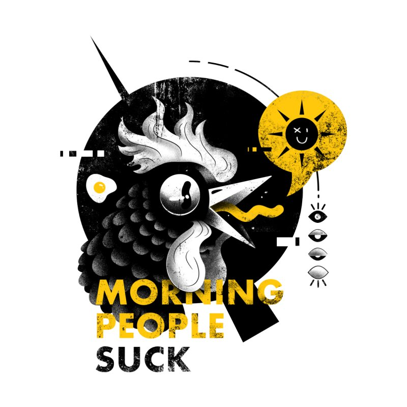 Morning People Tshirt & poster Men's T-Shirt by Pierre's Artist Shop