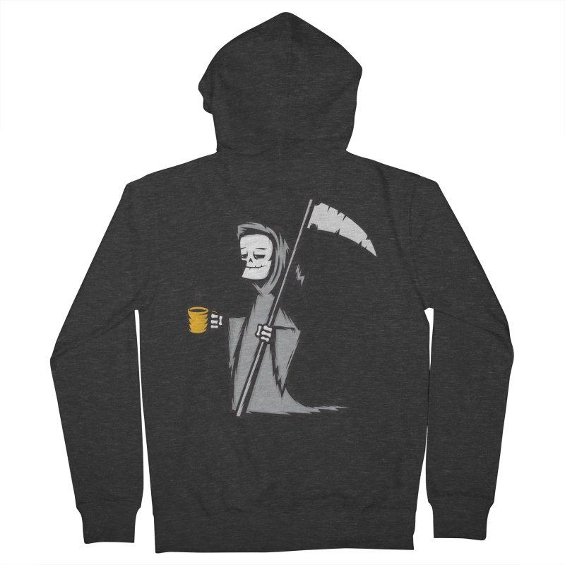 Dark Roast Men's Zip-Up Hoody by firehat45's Artist Shop