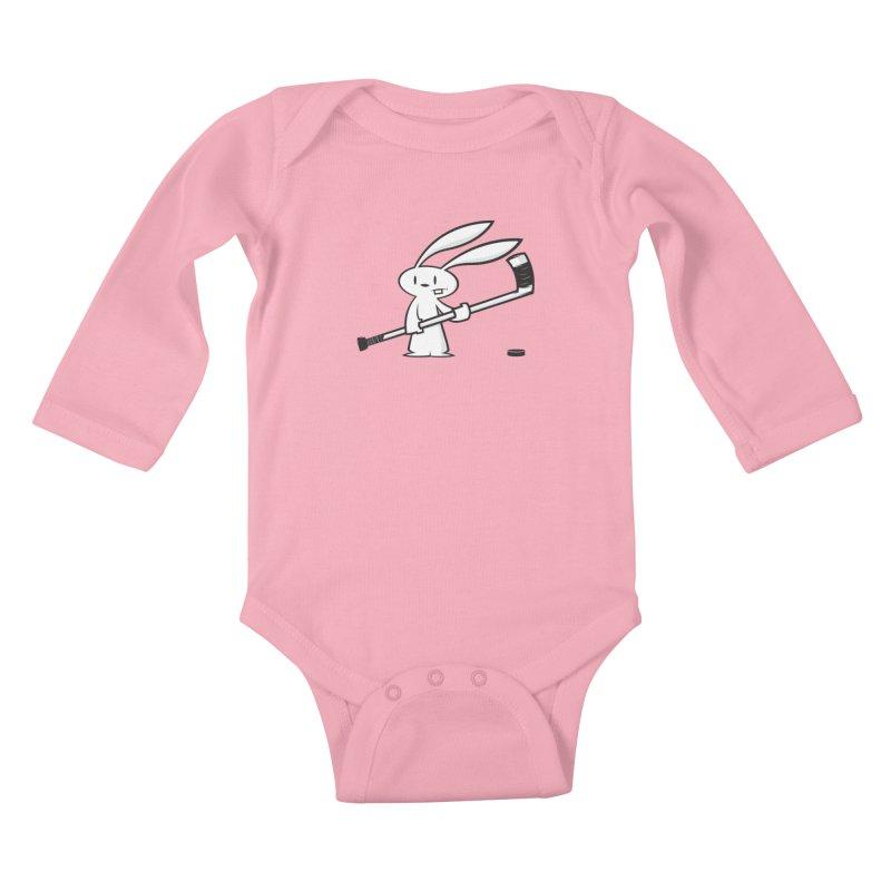 Can I Play? Kids Baby Longsleeve Bodysuit by firehat45's Artist Shop