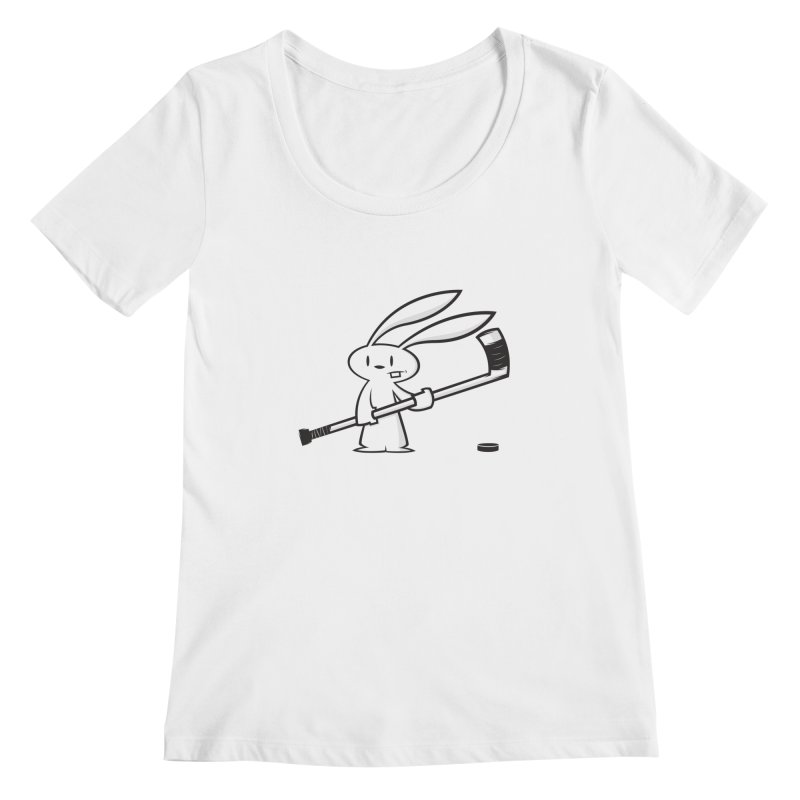 Can I Play? Women's Scoopneck by firehat45's Artist Shop