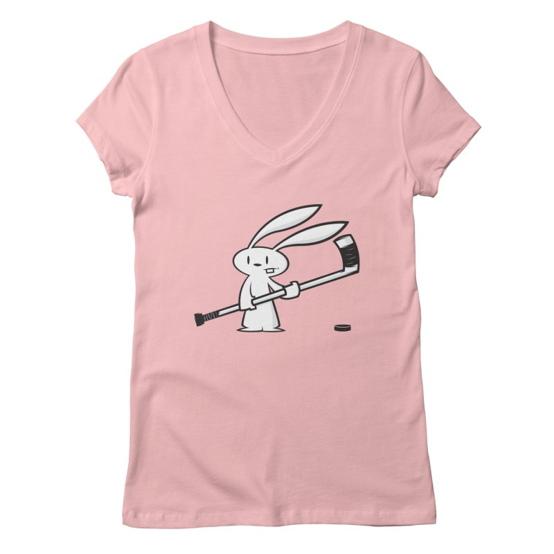 Can I Play? Women's V-Neck by firehat45's Artist Shop