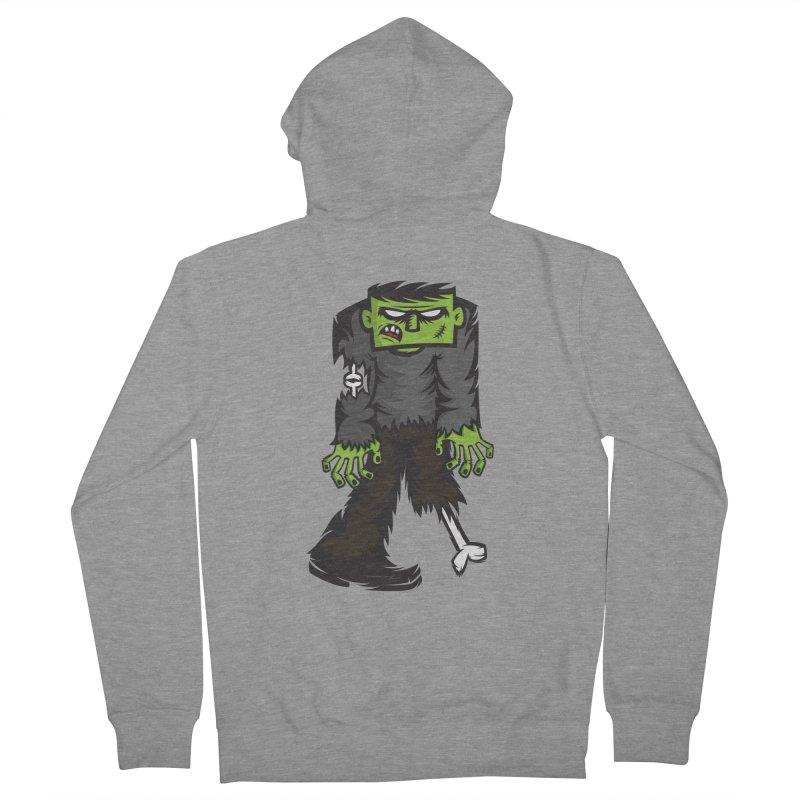 Zombie Men's Zip-Up Hoody by firehat45's Artist Shop