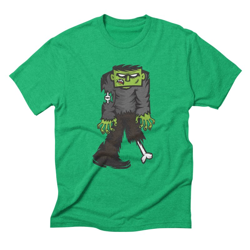 Zombie Men's Triblend T-shirt by firehat45's Artist Shop