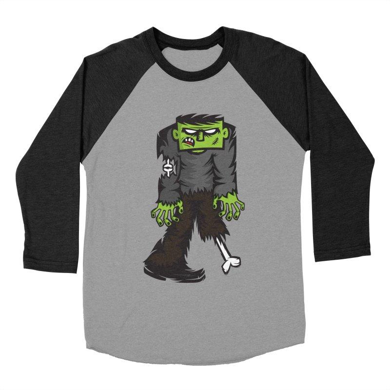 Zombie Women's Baseball Triblend T-Shirt by firehat45's Artist Shop