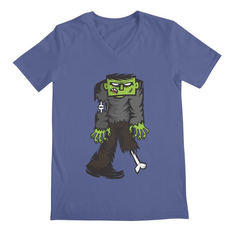 Zombie Men's V-Neck by firehat45's Artist Shop