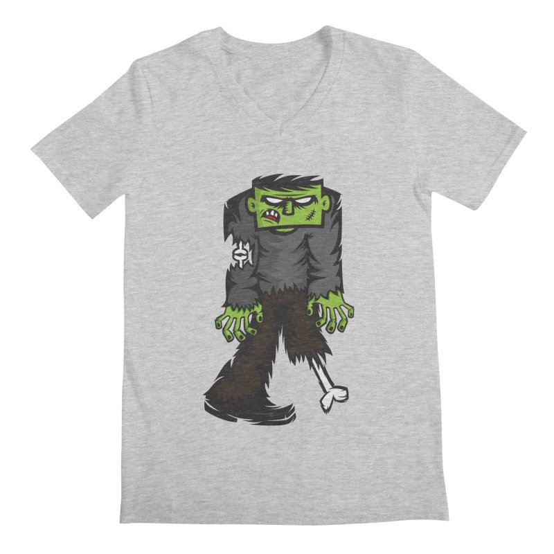Zombie Men's V-Neck by firehat45's Artist Shop