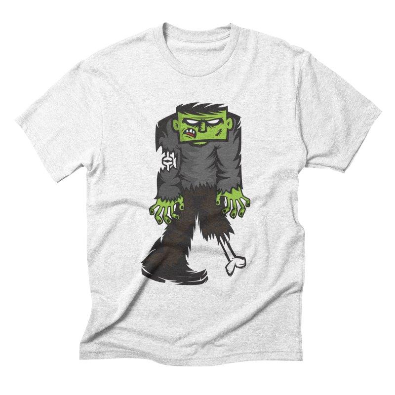 Zombie Men's Triblend T-shirt by firehat45's Artist Shop