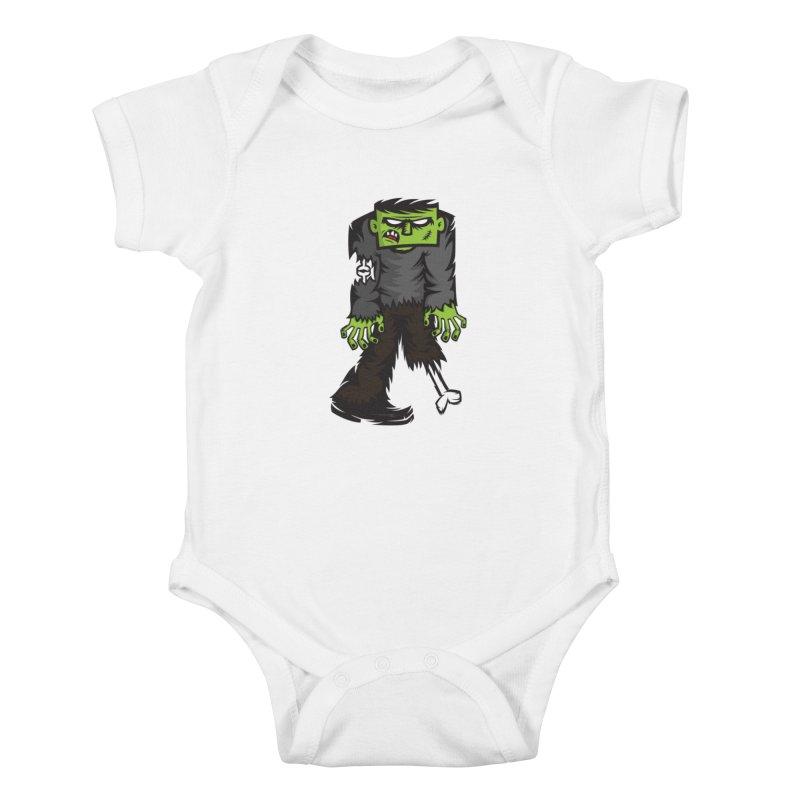 Zombie Kids Baby Bodysuit by firehat45's Artist Shop