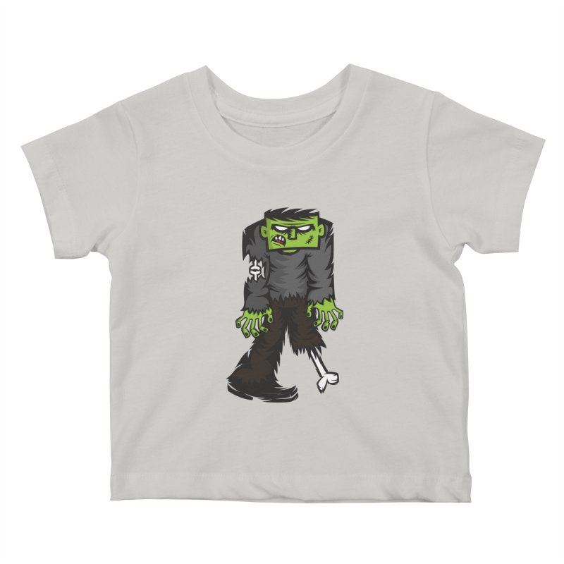 Zombie Kids Baby T-Shirt by firehat45's Artist Shop