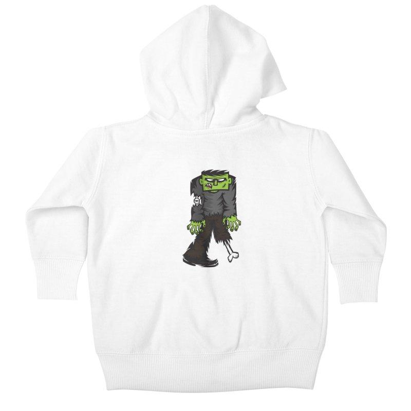 Zombie Kids Baby Zip-Up Hoody by firehat45's Artist Shop