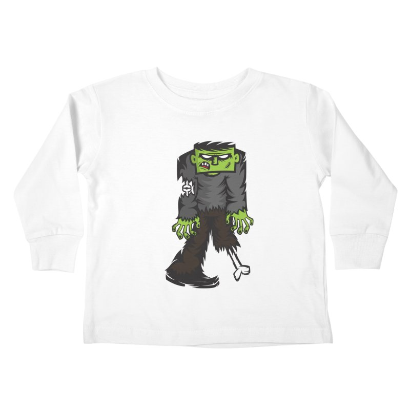 Zombie Kids Toddler Longsleeve T-Shirt by firehat45's Artist Shop