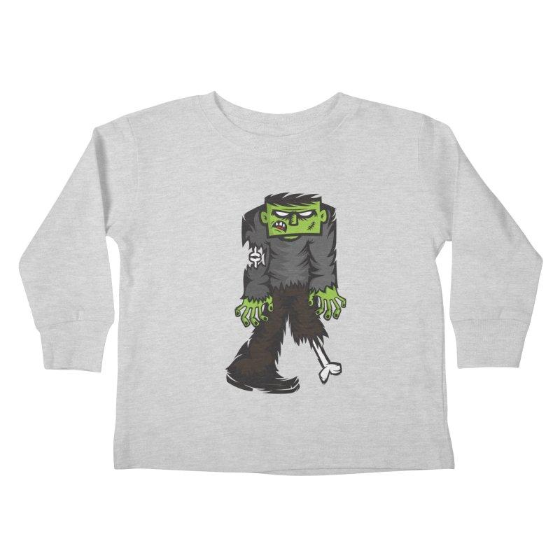 Zombie Kids Toddler Longsleeve T-Shirt by firehat45's Artist Shop