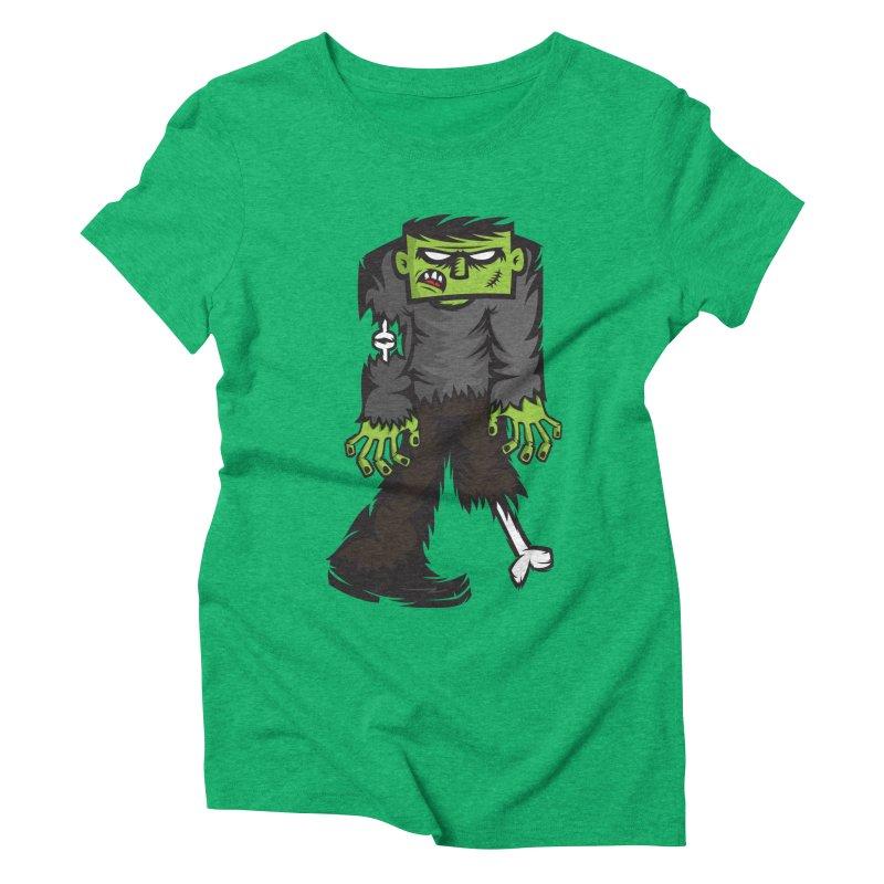Zombie Women's Triblend T-shirt by firehat45's Artist Shop