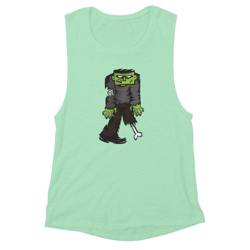 Zombie Women's Muscle Tank by firehat45's Artist Shop