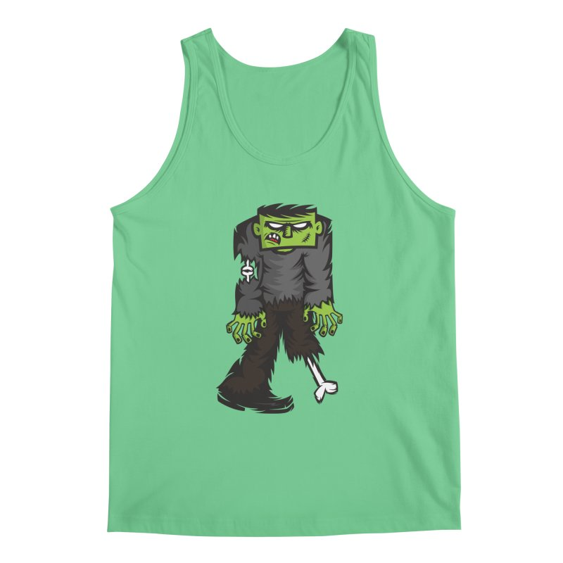 Zombie Men's Tank by firehat45's Artist Shop