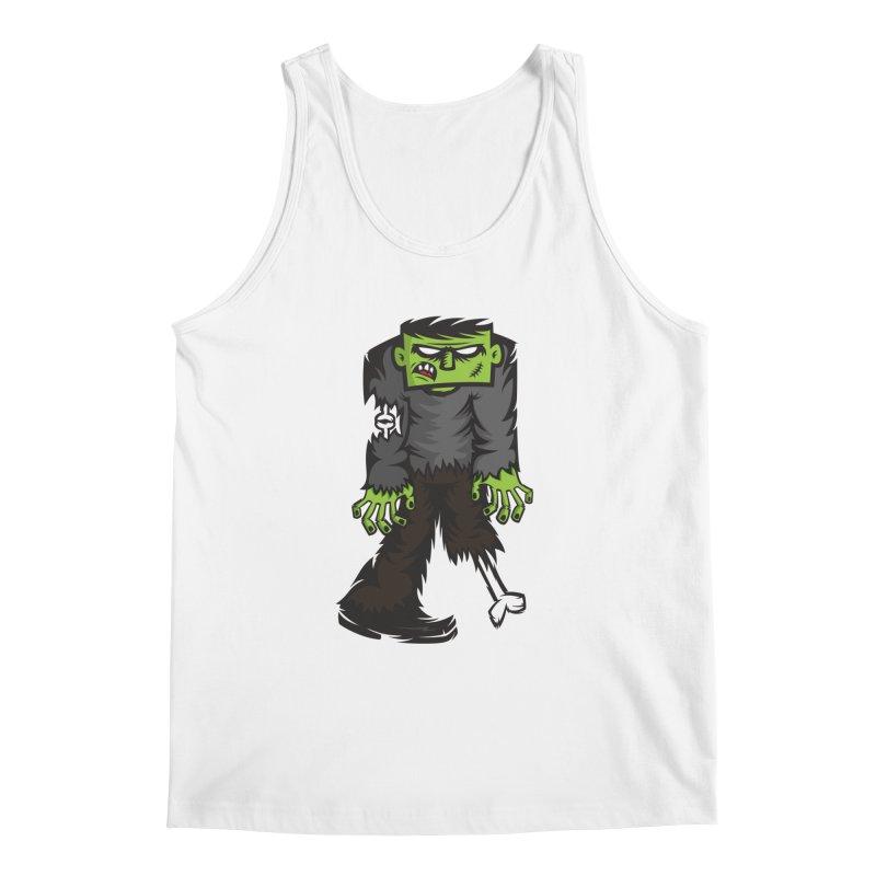 Zombie Men's Tank by firehat45's Artist Shop