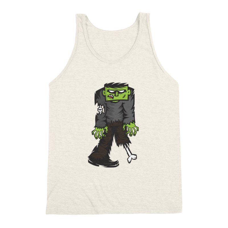 Zombie Men's Triblend Tank by firehat45's Artist Shop