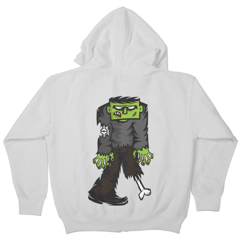 Zombie Kids Zip-Up Hoody by firehat45's Artist Shop