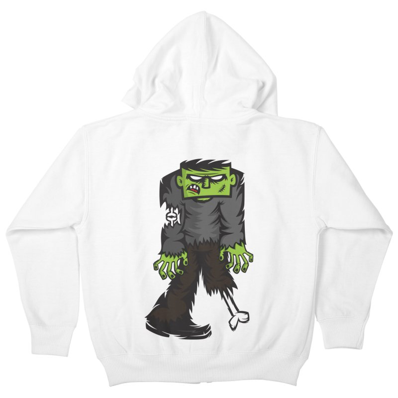 Zombie Kids Zip-Up Hoody by firehat45's Artist Shop