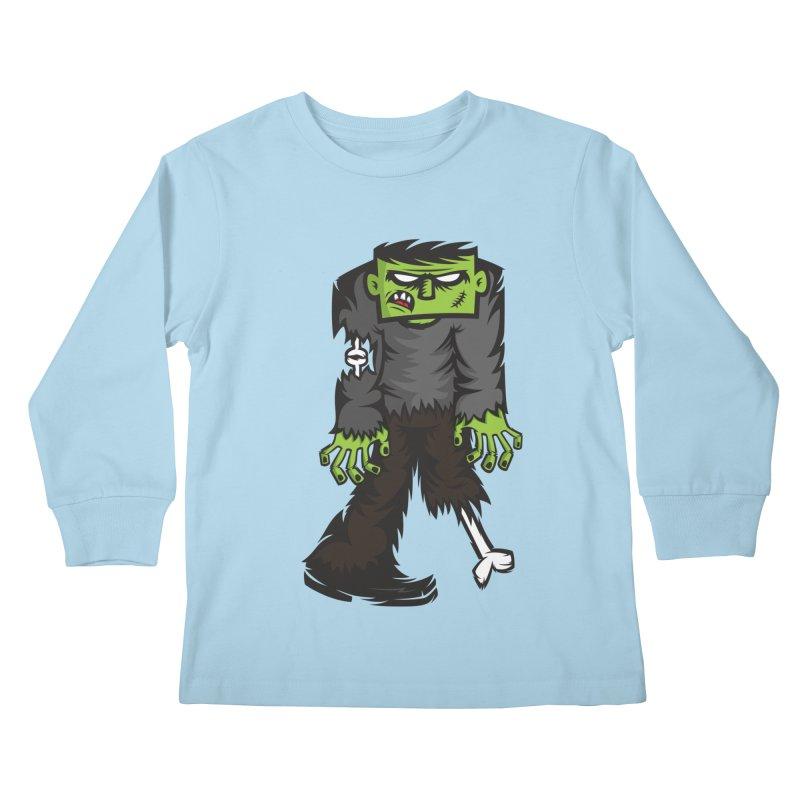 Zombie Kids Longsleeve T-Shirt by firehat45's Artist Shop