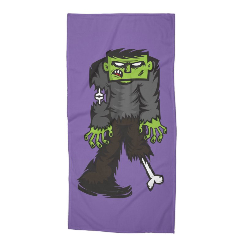 Zombie Accessories Beach Towel by firehat45's Artist Shop