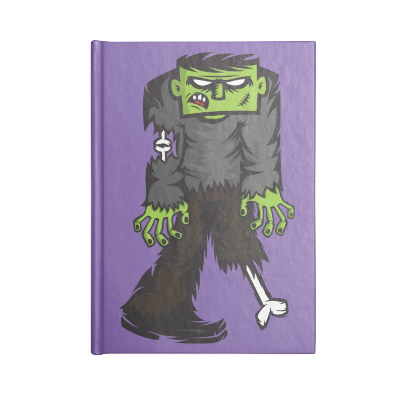 Zombie Accessories Notebook by firehat45's Artist Shop