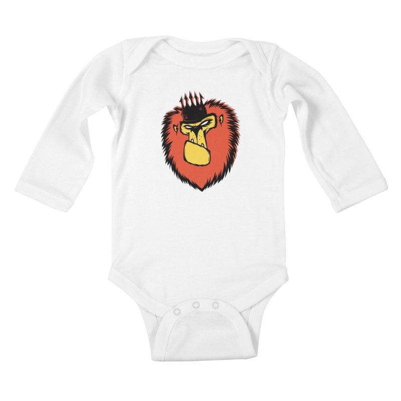 Lion King Kids Baby Longsleeve Bodysuit by firehat45's Artist Shop