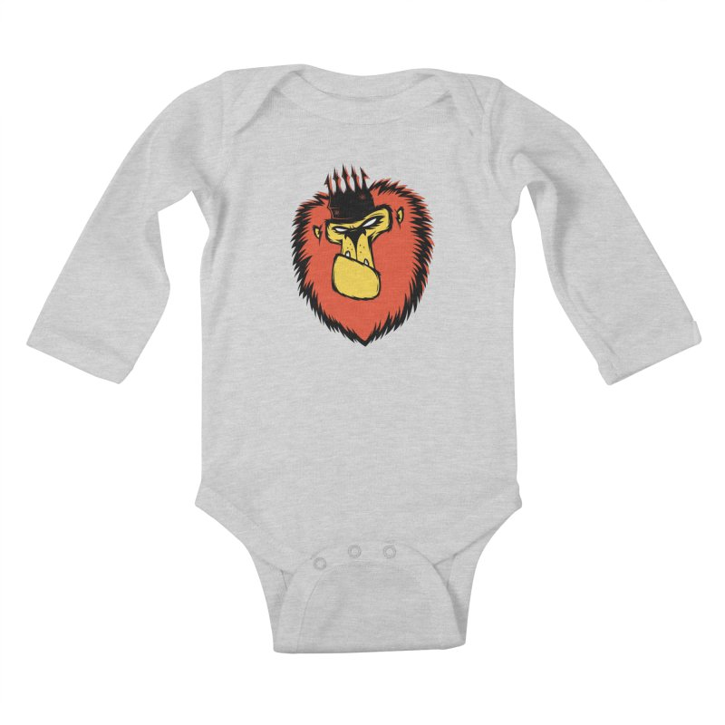 Lion King Kids Baby Longsleeve Bodysuit by firehat45's Artist Shop