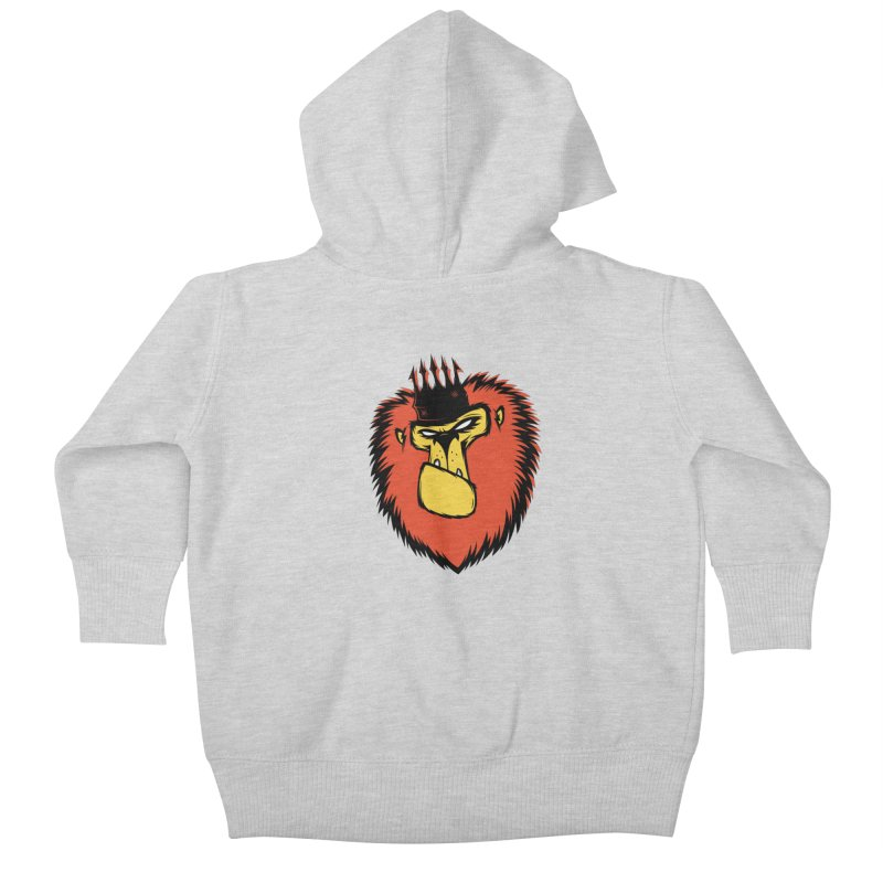 Lion King Kids Baby Zip-Up Hoody by firehat45's Artist Shop
