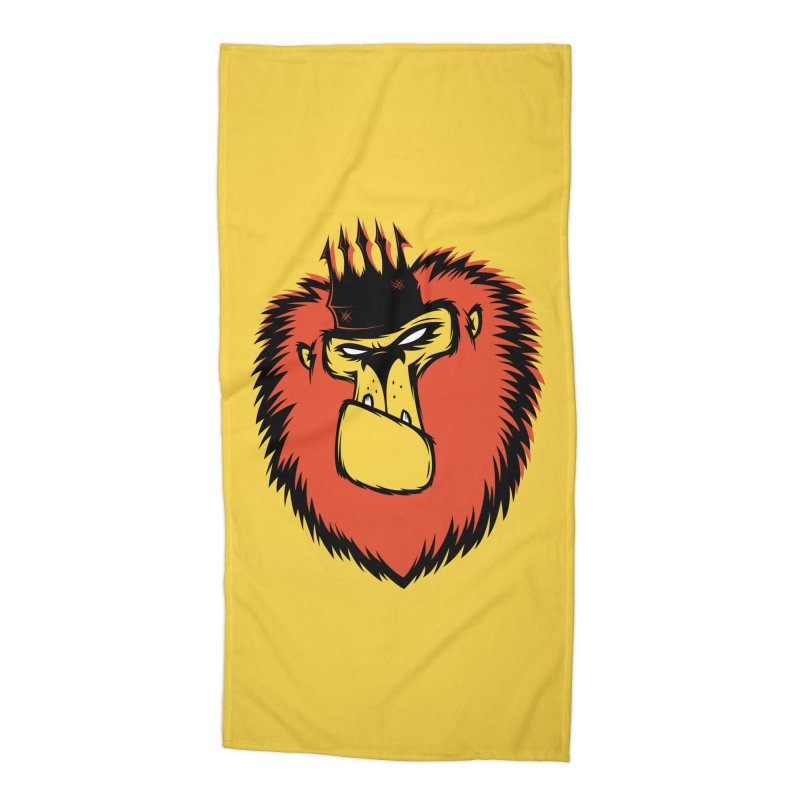 Lion King Accessories Beach Towel by firehat45's Artist Shop