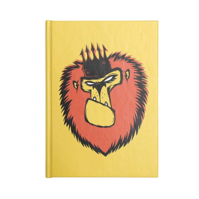 Lion King Accessories Notebook by firehat45's Artist Shop