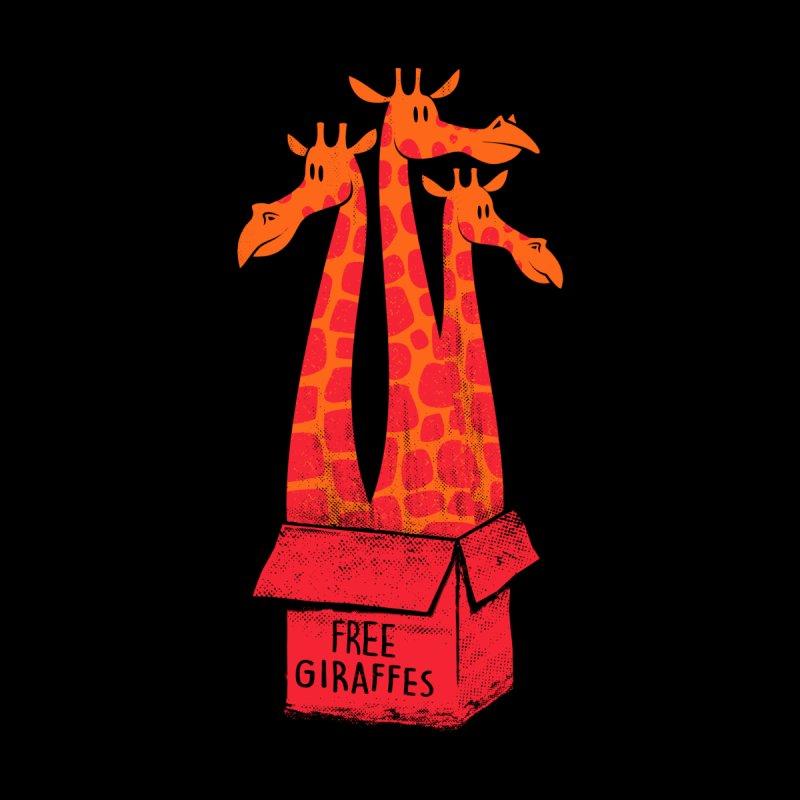 Free Giraffes Women's Pullover Hoody by firehat45's Artist Shop