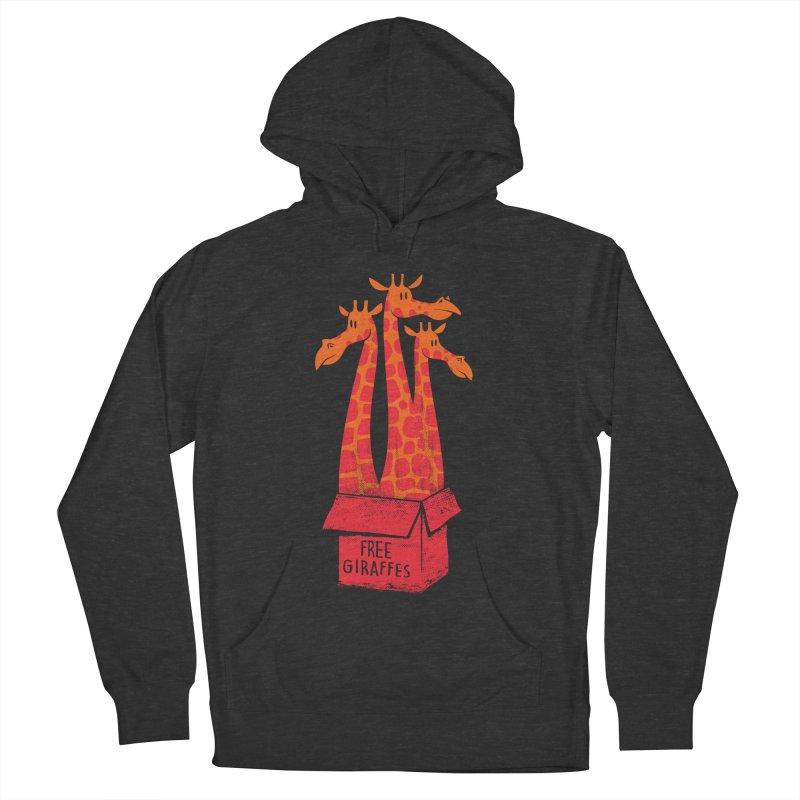 Free Giraffes Men's Pullover Hoody by firehat45's Artist Shop
