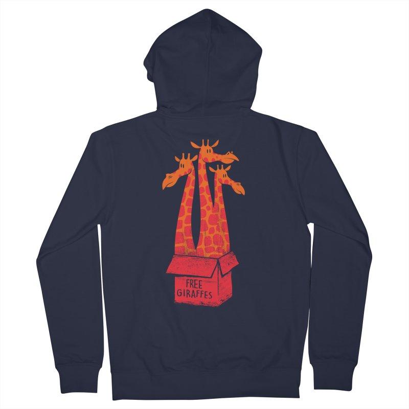 Free Giraffes Women's Zip-Up Hoody by firehat45's Artist Shop