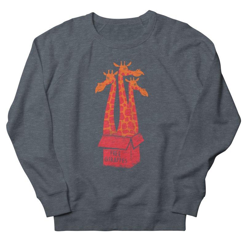Free Giraffes Women's Sweatshirt by firehat45's Artist Shop