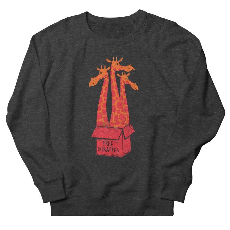 Free Giraffes Men's Sweatshirt by firehat45's Artist Shop