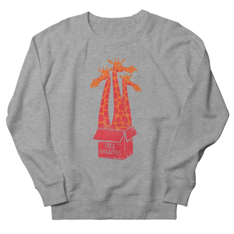Free Giraffes Men's Sweatshirt by firehat45's Artist Shop