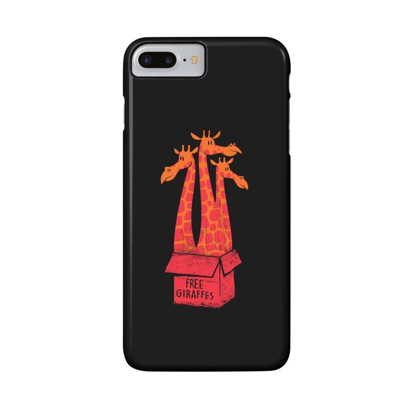 Free Giraffes Accessories Phone Case by firehat45's Artist Shop